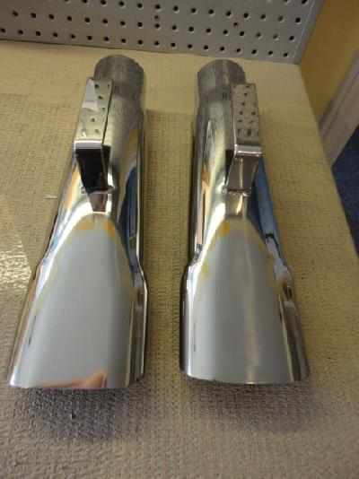 Exhaust Exhaust Tips 68 70 Road Runner Gtx Stainless 2